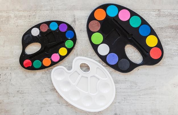 Цветовая палитра лотка, вид сверху Бесплатные Фотографии