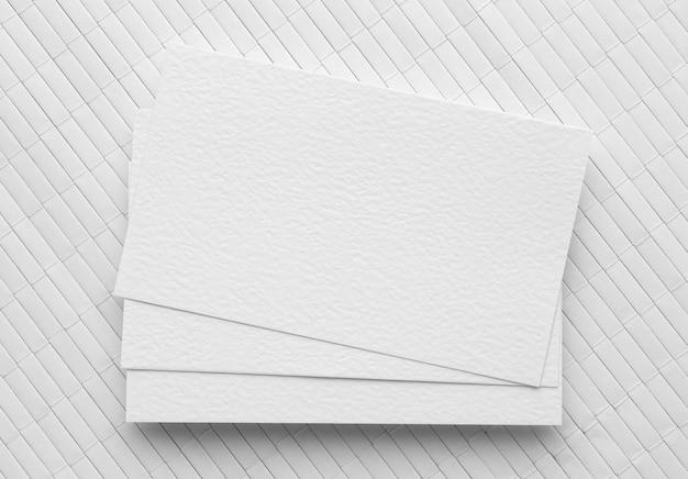 Визитные карточки с копией пространства Бесплатные Фотографии
