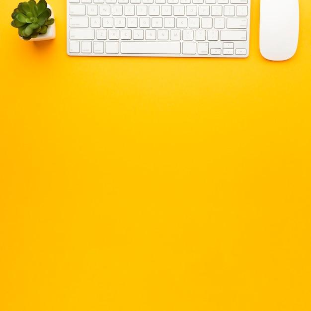Концепция столешницы с клавиатурой Бесплатные Фотографии