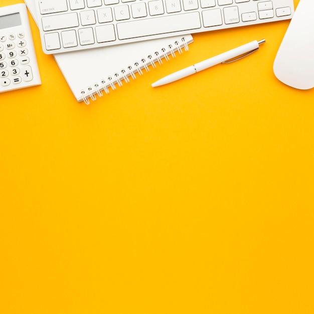 Концепция столешницы с клавиатурой Premium Фотографии
