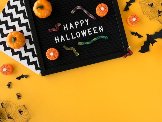 Концепция хэллоуина с копией пространства Бесплатные Фотографии
