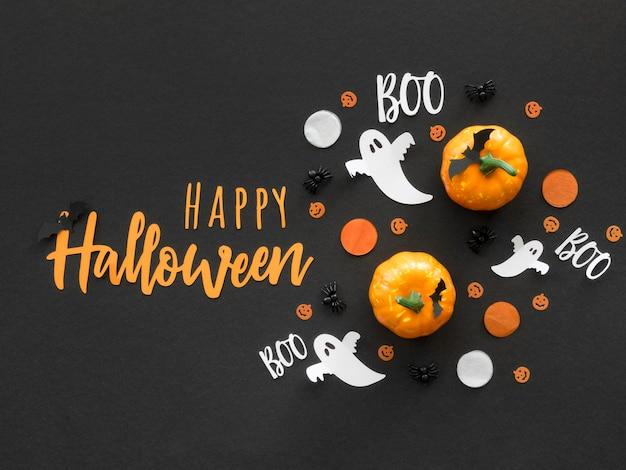 Концепция хэллоуина с приветствием Бесплатные Фотографии