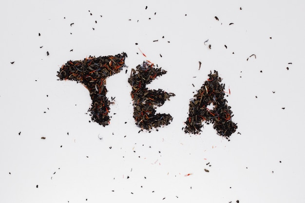Top view herbal tea spices Free Photo