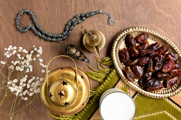平面図イスラム風装飾要素 無料写真
