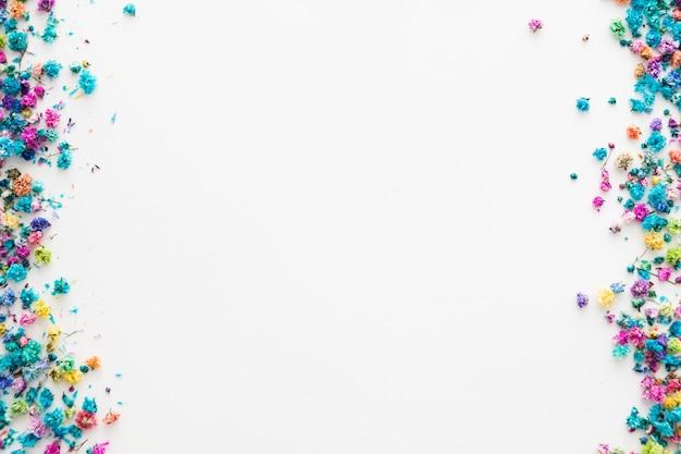 Вид сверху beautful цветочные концепции с копией пространства Бесплатные Фотографии