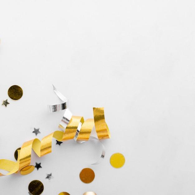 美しい誕生日の概念の上面図 無料写真