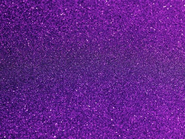 Top view purple glitter background Premium Photo