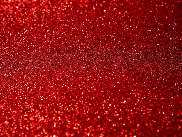 Top view red glitter background Free Photo