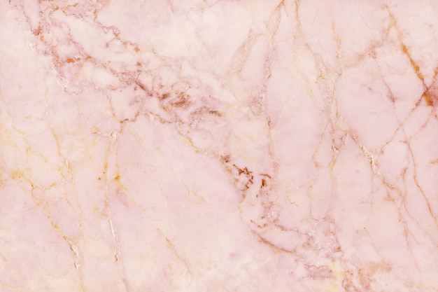 Top view of rose gold marble texture background, natural tile stone floor Premium Photo