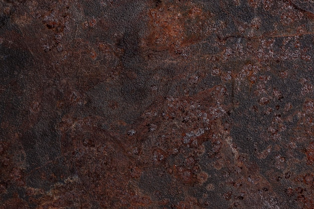 Top view of rusty metal surface Free Photo