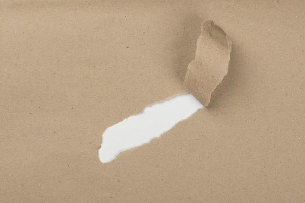 Вид сверху царапины на бумаге Бесплатные Фотографии