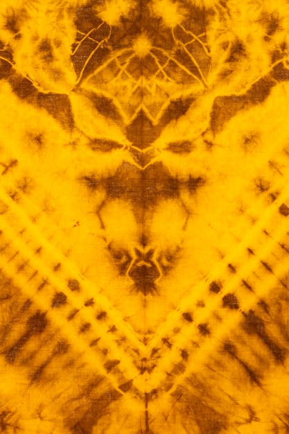 Top view of tie-dye cloth Free Photo