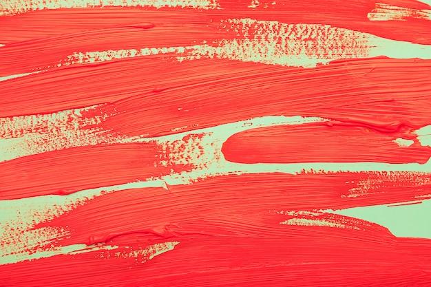トップビュー水彩赤スト 無料写真