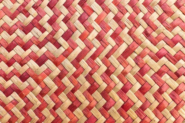Top view of weaving pattern Free Photo