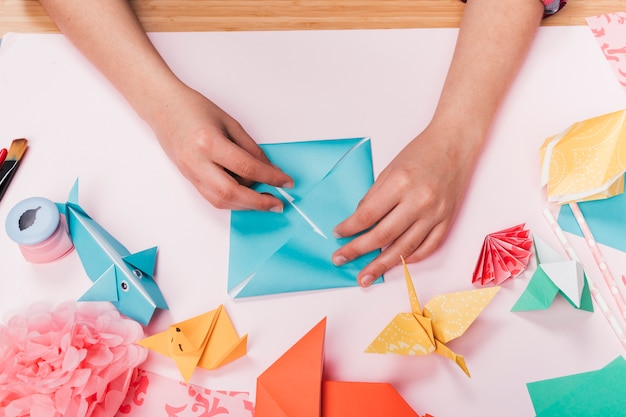 Make your own Origami Wolf | Little Angel Theatre | 417x626