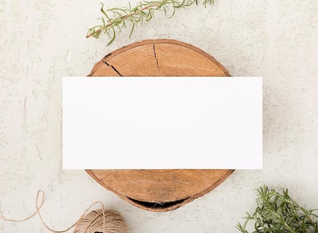 コピースペース平面図木の板 無料写真