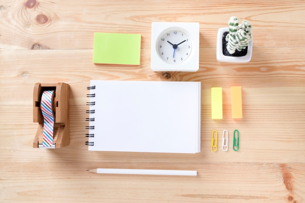 office working table. Topview Of Office Stuff On Wooden Working Table. Free Photo Table