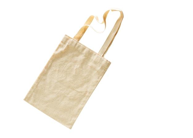 Tote bag canvas fabric cloth eco shopping Premium Photo