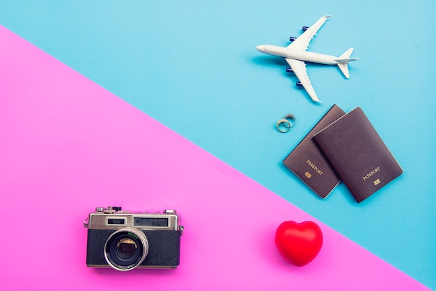 Tourism background Premium Photo