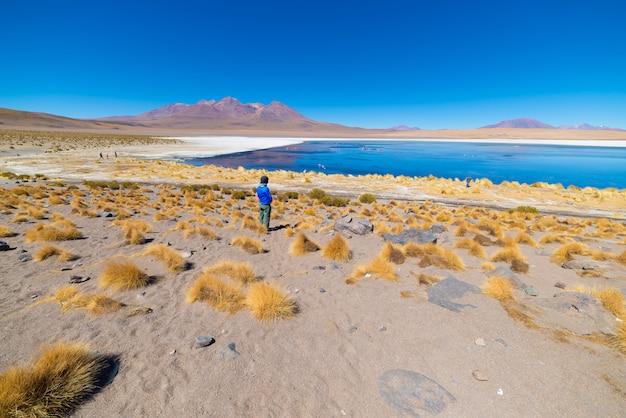 Tourist at Premium Photo