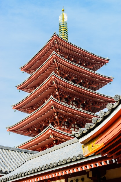 Tower japan shinto temple japanese Free Photo