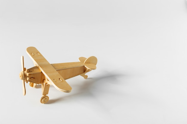 Toy airplane isolated Premium Photo