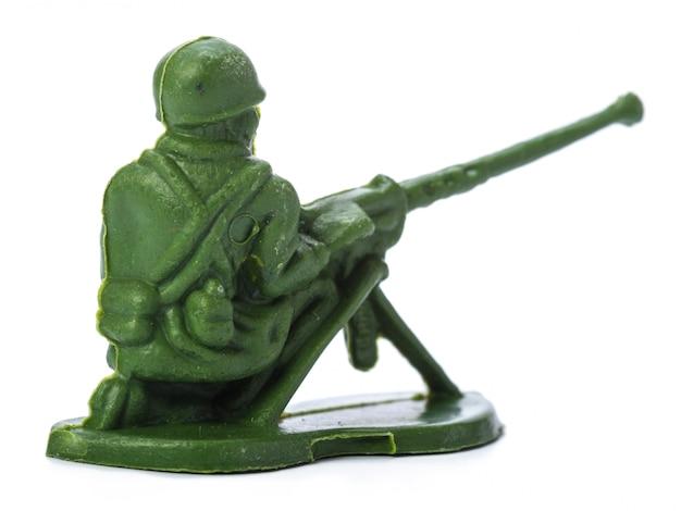 Оловянный солдатик Premium Фотографии