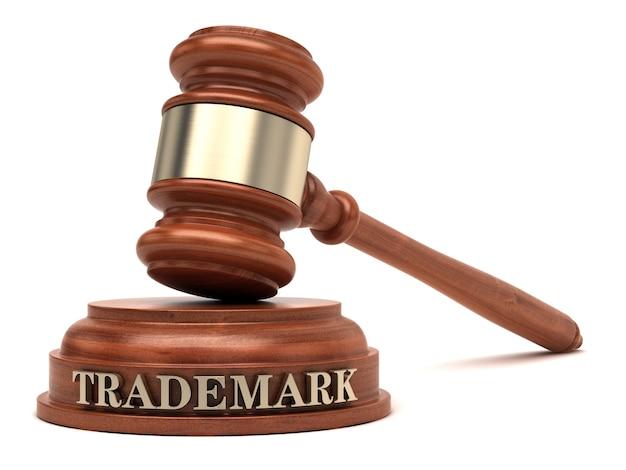 Trademark law Premium Photo