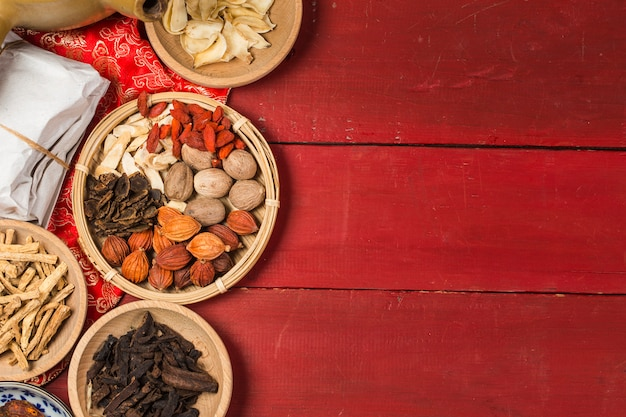 Traditional chinese medicine,Œchinese medicine books Premium Photo