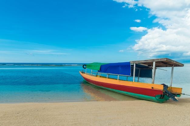 Traditional indonesian fisherman boat Free Photo
