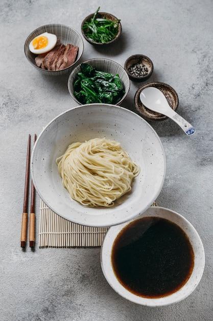 伝統的な日本料理の構成 Premium写真