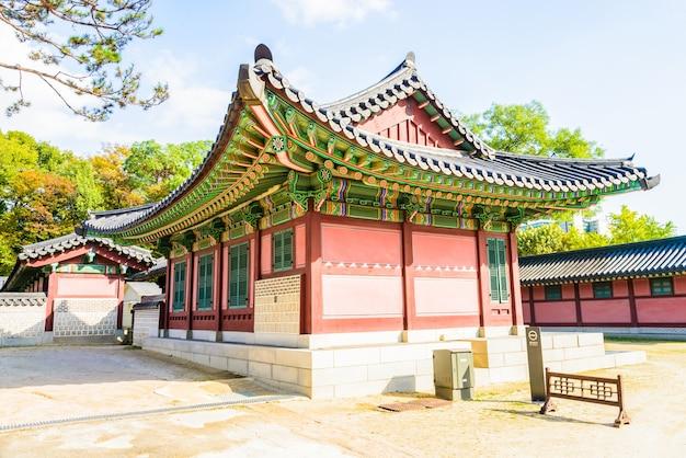Traditional secret seoul royal tourist Free Photo