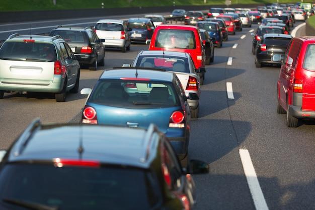 Traffic jam Premium Photo