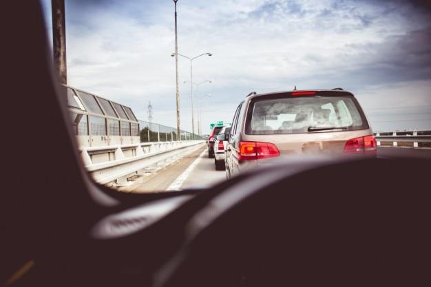 A traffic jam Free Photo