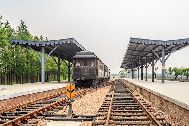Train and railway Free Photo