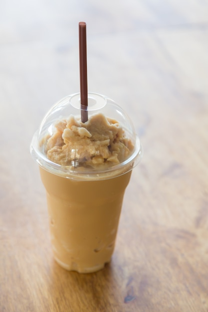 Transparent Coffee Cup With Straw Photo Free Download