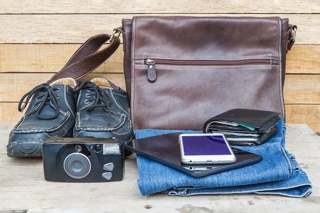 Концепция аксессуаров для путешествий Бесплатные Фотографии