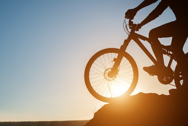 Travel cycling mountain vacation lifestyle Free Photo