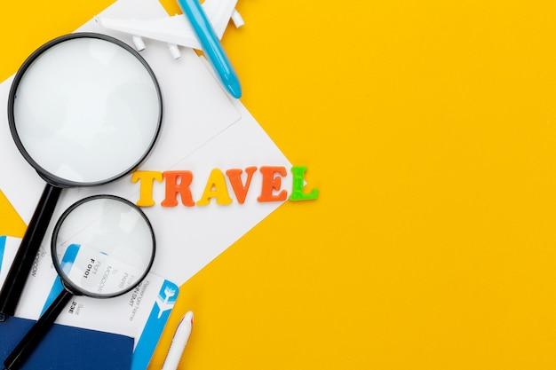 Travel planning concept Premium Photo