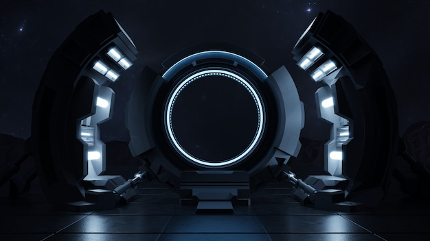 Путешествие через дверь будущего со скоростью света. Бесплатные Фотографии
