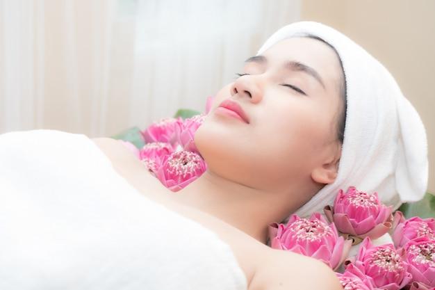 Treatment beauty spa Premium Photo