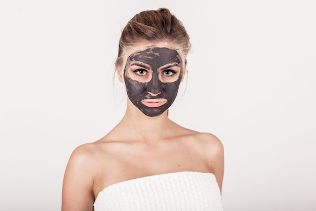 Treatment face skin relaxation facial Free Photo