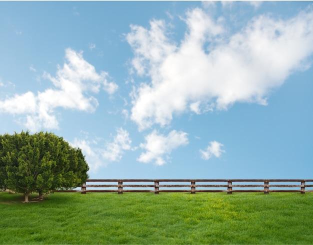 Дерево в прекрасный день Бесплатные Фотографии