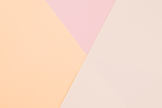 Tripe color paper background for layout Premium Photo