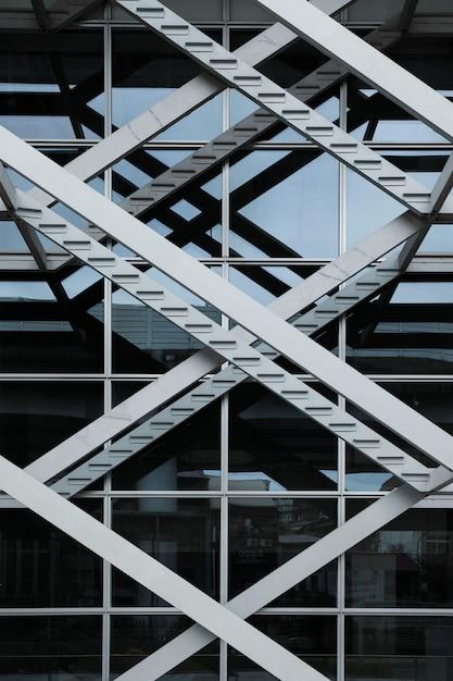 Triple x architecture design of a building Free Photo