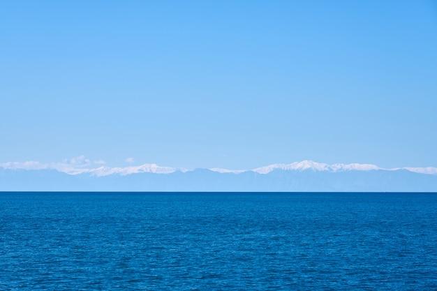 熱帯の青い海の風景 Premium写真