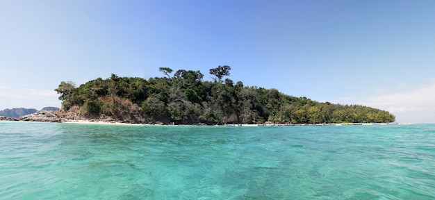 Tropical island Premium Photo