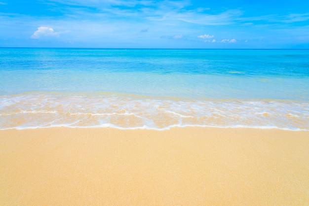 Tropical sea beach Free Photo