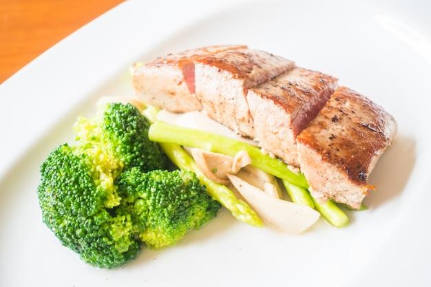 Tuna steak Free Photo