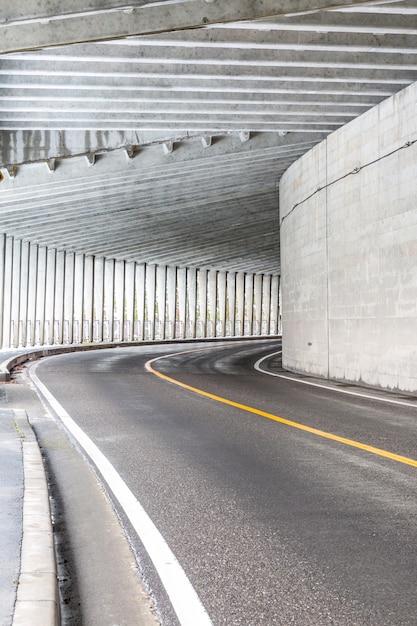 Tunnel at mountain Premium Photo